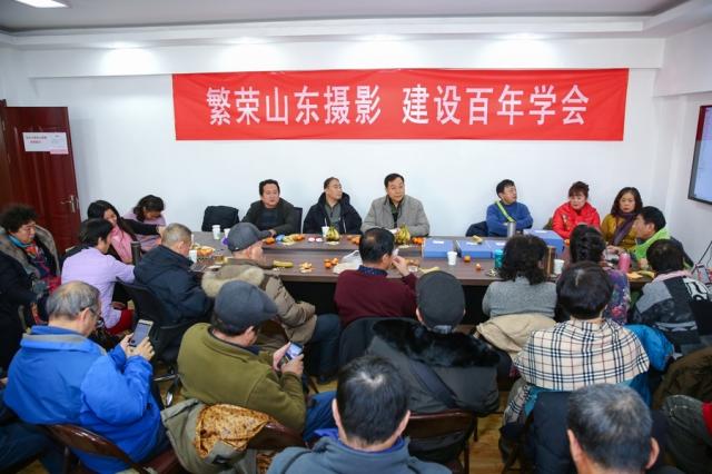 济南市摄协赴太行山大型釆风摄影赛举行颁